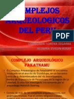 Complejos Arqueologicos Dle Peru