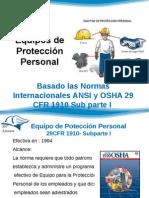 Equipos de Protección Personal Parte 1