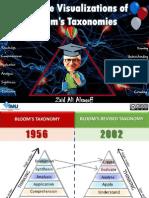 Creative Visualizations of Bloom's Taxonomies!