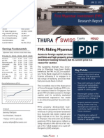 Business Research Report for Myanmar