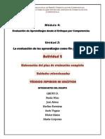 Plan de Evaluación completo  de unidades seleccionadas. TÉCNICO SUPERIOR EN LOGÍSTICA Módulo 4.Docxunidad2.Act2.Pdf11