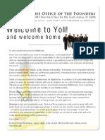 Yoli Blast Caps - Message From the Yoli Founders