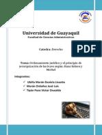 Universidad de Guayaquil Carpeta de Derecho