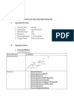 Preformulasi Gel Dexametason2
