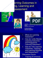d Kennedy Learning Outcomes