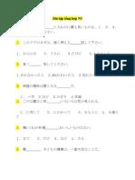 Bài tập tổng hợp N3