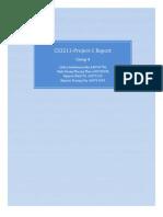 CS3211 Project Report