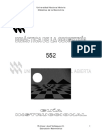 Didáctica de La Geometría