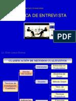 Técnica de La Entrevista 2-2012