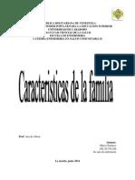 Caracteristicas de La Familia
