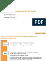 2014 Navigate Australias Business Agenda