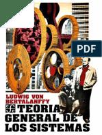 Teoria General de Los Sistemas Ludwig Von Bertalanffy