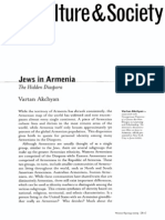 Jews in Armenia. The Hidden Diaspora