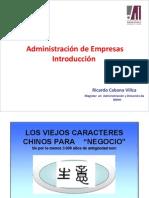 Administracion de Empresas 1 CON DESFASE