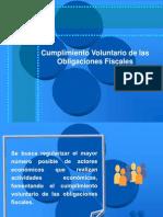 Cumplimiento Voluntario de Las Obligaciones Fiscales