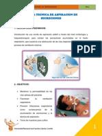 Norma Tecnica de Aspiracion de Secreciones..