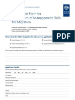 AIM Migration Skills Assessment