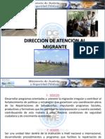 Direccion de Atencion Al Migrante