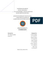 Informe 1 -Materiales - Compresion