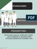 kepatuhan pasien