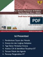 Paparan Hasil Kajian Sistem Perizinan Sda 6 Feb 2014