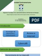 Diagnóstico Tecnológico de Los Cybercafé Del Distrito II Del Municipio de Managua