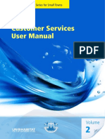 Customer Services User Manual Volume 2