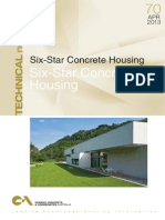 Six star concrete housing