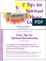 Seven Tips for Spiritual Housecleaning - Rebecca Marina