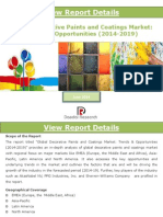 Global Decorative Paints and Coatings Market