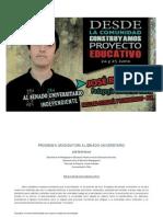 Programa Candidatura José Reyes al Senado Universitario_Universidad de Chile