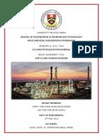 Petroleum Assignment - UOP Q-Max Cumene Process (FULL)