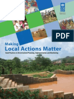 Making Local Actions Matter; Good Practices in Decentralized Planning, Implementation and Monitoring
