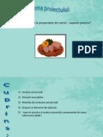 Analiza Senzoriala La Preparatele Din Carne – Aspecte Practice