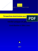 Perspectives dominicaines pour l'Europe 3