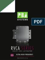 RVCA Rectangular Voice Coil Actuator