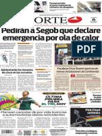 Periódico Norte edición impresa del día 6 de junio del 2014
