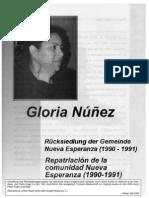 Rücksiedlung der Gemeinde Nueva Esperanza (1990 - 1991)