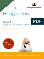 Yoga for Absolute Beginners-DYWM