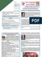 Boletín Fe y Alegría 69 - Cutervo - Nº 1