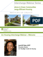 New Innovations in Green Communities and Energy-Efficient Housing Slides