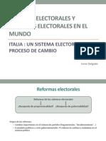 Sistema Electoral en Italia