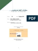 Quaderno n.6 Personaggi caratteristici filesi - I° Raccolta -
