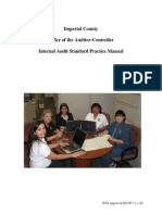 Audit Manual 011910