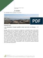 Revue de Presse Du 30.05.14 Au 05.06.14