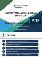 Presentasi Teni Bappenas - Dialog Kebijakan G20