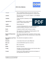 Drilling Glossary