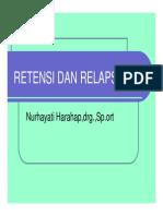 Or 352 Slide Retensi Dan Relaps