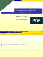 Coniche Tfa Classif