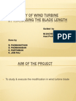 Presentation Windturbin